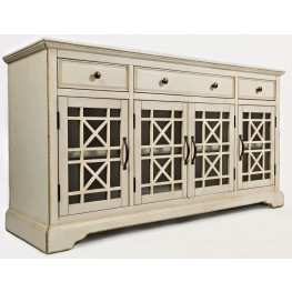 "Craftsman Antique Cream 60"" Media Unit"