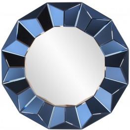 Kaleidoscope Cobalt Blue Mirror