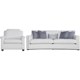 Tessa White Living Room Set