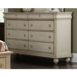Rustic Traditions II 8 Drawer Dresser