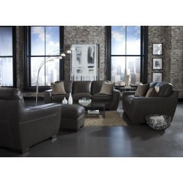 Alpha Slate Living Room Set