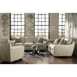 Alpha White Living Room Set