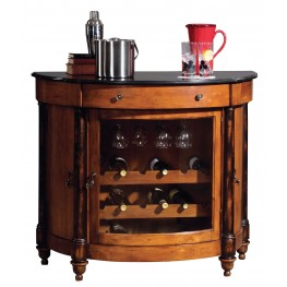 Merlot Valley Wine & Bar Cabinet
