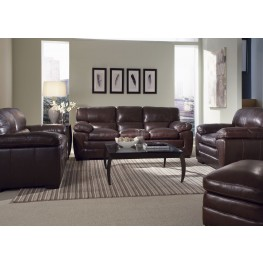 Biscayne Espresso Living Room Set