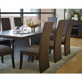 Novara Charcoal Serra Extendable Rectangular Dining Room Set