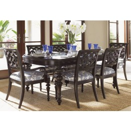 Royal Kahala Islands Edge Rectangular Dining Room Set