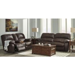 Zavier Truffle 2 Seat Power Reclining Living Room Set