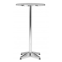 Christabel Folding Bar Table Aluminum