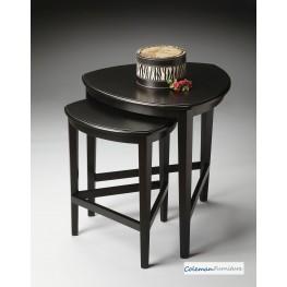 Black Licorice Nesting Tables
