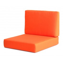 Cosmopolitan Orange Armchair Cushions