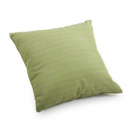 Cat Apple Green Linen Small Pillow