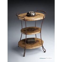 Metalworks 7046025 Tiered Accent Table