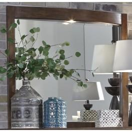 Avalon III Pebble Brown LED Lighted Mirror