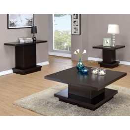 Cappuccino Occasional Table Set