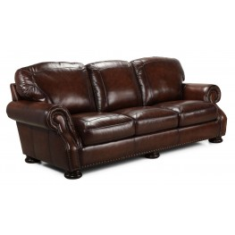 Carlton Antique Espresso Sofa