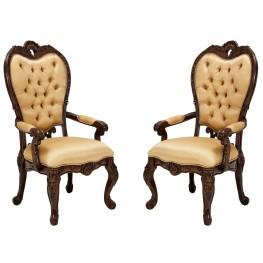 Palais Royale Fabric Arm Chair Set of 2