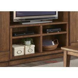 LancasterII Antique Brown Entertainment TV Stand