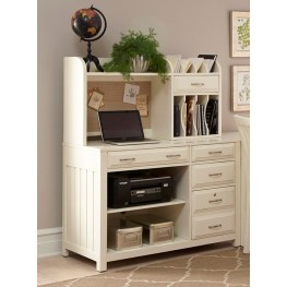 Hampton Bay White Credenza With Hutch