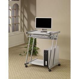 Silver Computer Desk 7173