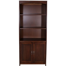 Hampton Bay Cherry Door Bookcase