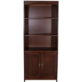 Hampton Bay Cherry Door Bookcase