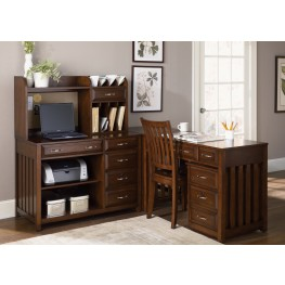 Hampton Bay Cherry Home Office Set