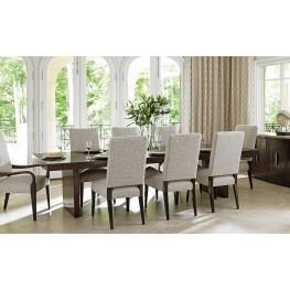 Laurel Canyon San Lorenzo Warm Mocha Extendable Rectangular Dining Room Set