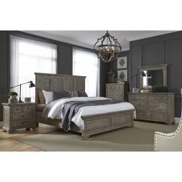 Highlands Gravel Panel Bedroom Set