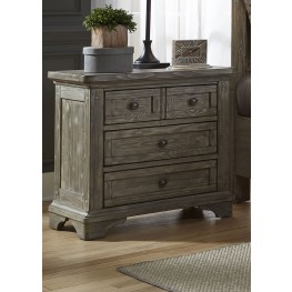Highlands Gravel Nightstand