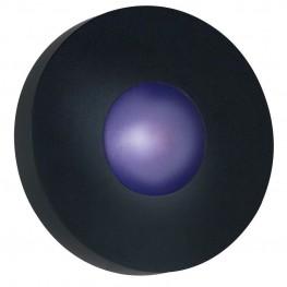 Burst Black Small Round Sconce/Flush