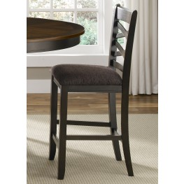 Bistro II Double X Back Counter Height Chair Set of 2