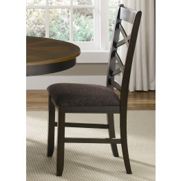Bistro II Double X Back Side Chair Set of 2