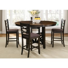 Bistro II Extendable Gathering Table Set