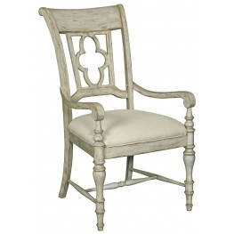 Weatherford Cornsilk Arm Chair Set of 2