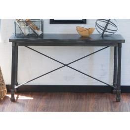 Clayton Dark Charcoal Rub Thru Sofa Table