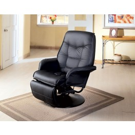 Black Reclining Chair 7501