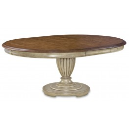 Provenance Round Extendable Dining Table