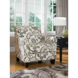 Yvette Steel Accent Chair
