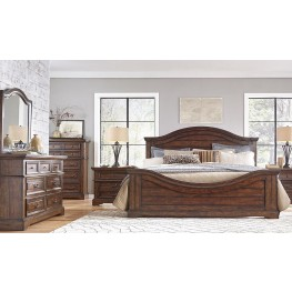 Stonebrook Tobacco Panel Bedroom Set