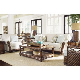 Bali Hai Shoreline Upholstered Living Room Set