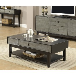 Linville Grey One Drawer Occasional Table Set