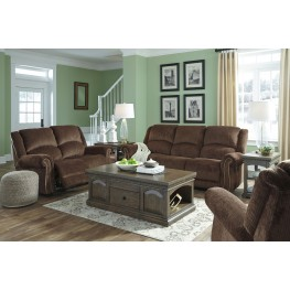 Goodlow Chocolate Power Reclining Living Room Set