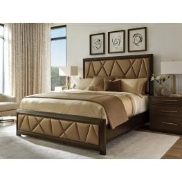 Zavala Spectrum Upholstered Panel Bedroom Set