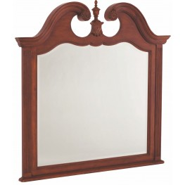 Cherry Grove Classic Antique Cherry Landscape Mirror