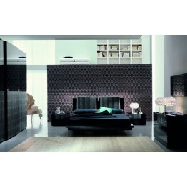 Diamond Black Bedroom Set