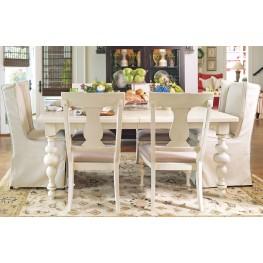 Paula Deen Home Linen Rectangular Extendable Dining Room Set