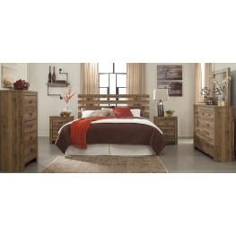 Cinrey Medium Brown Panel Bedroom Set