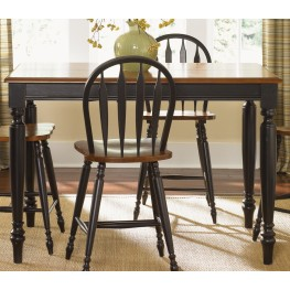 Low Country Black Gathering Table