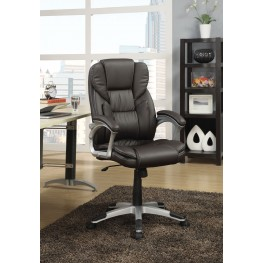 800045 Dark Brown Office Chair
