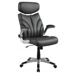 800164 Grey Upholstered Office Chair